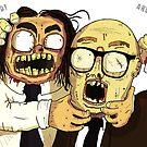 Richie And Eddie by Mark Wilkie