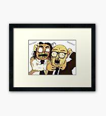 Richie And Eddie Framed Print