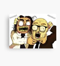 Richie And Eddie Canvas Print