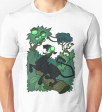 Acid Panther with Berries T-Shirt