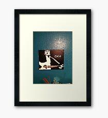 Jonny Cash Framed Print