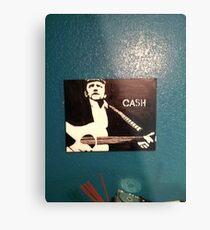 Jonny Cash Metal Print