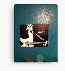 Jonny Cash Canvas Print