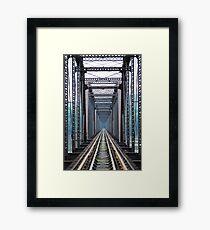 Susquehanna River Bridge Framed Print