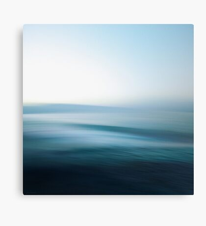 Perfect Day at Sea Canvas Print