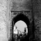 West Gate - Pedestrian Area  by rsangsterkelly