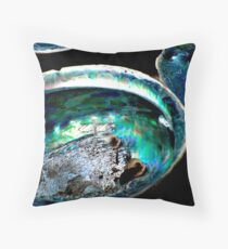 Paua Shells Throw Pillow