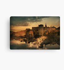 Jindrichuv Hradec, South Bohemia Canvas Print