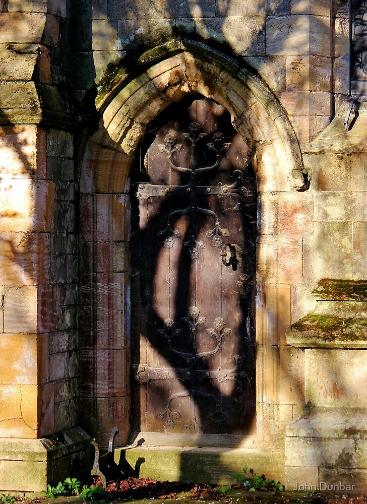 Hand on East Church Door by John Dunbar