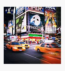 NYC: Taxi Taxi Photographic Print