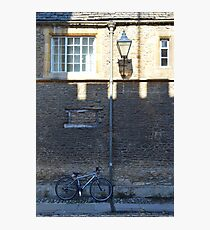 Merton Street, Oxford, UK Photographic Print