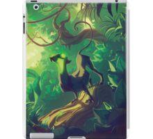 Acid Panther Illustrative iPad Case/Skin