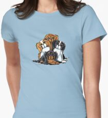 CKCS - Portait of Royalty Women's Fitted T-Shirt
