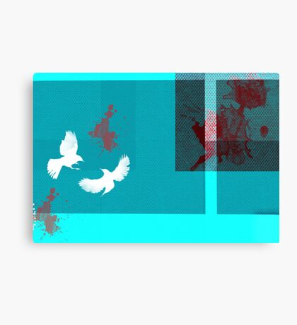 Killer birds Canvas Print