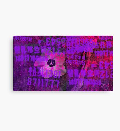 Magenta Flower Canvas Print
