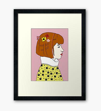 Indie Girl Framed Print