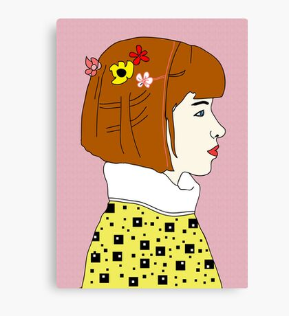 Indie Girl Canvas Print