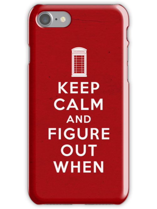 Keep Calm and Figure Out When by weRsNs