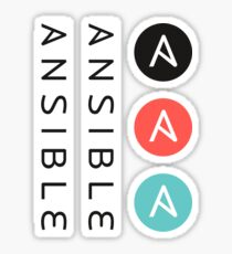 Ansible logo and font Sticker