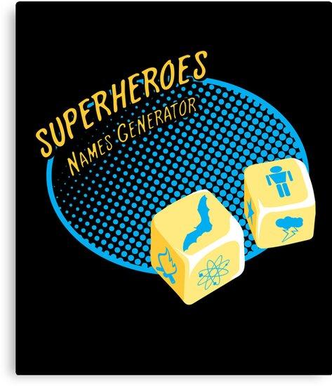Superheroes name-generator by sergio37