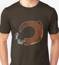 Swimming otter Unisex T-Shirt