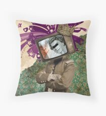 The King and The Queen Throw Pillow