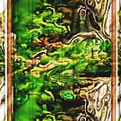 Forrest, abstract by Yvon van der Wijk
