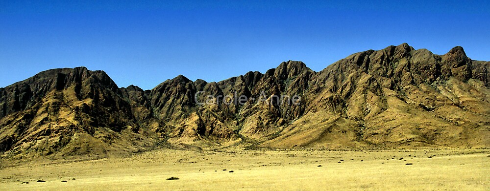 Naukluft Mountains, Namibia by Carole-Anne