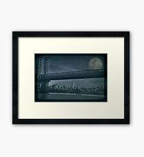 NewYork minute Framed Print