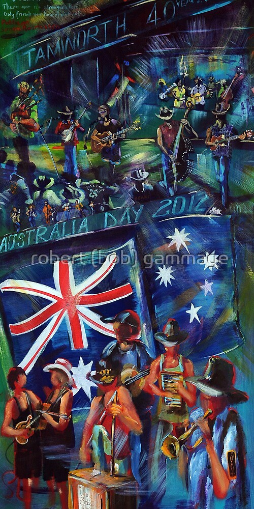 Australia Day at the Courthouse Hotel 2012 by tola