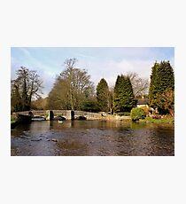 Sheepwash Packhorse Bridge Photographic Print