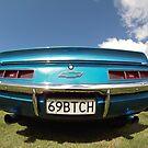 69BTCH Chevrolet Classic Cars  by Stone Bandana