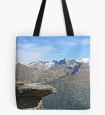 Austria, Alps mountain landscape  Tote Bag