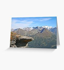 Austria, Alps mountain landscape  Greeting Card