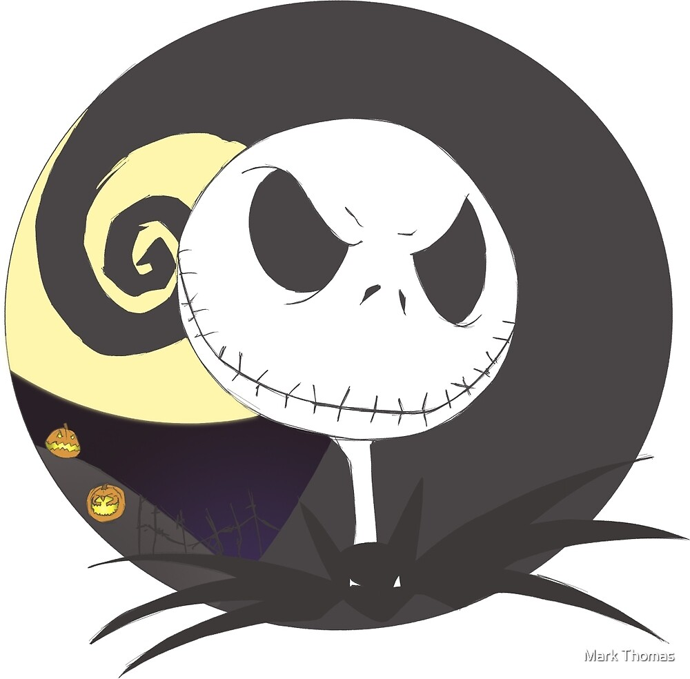 Jack Skellington - The Nightmare Before Christmas by Mark Thomas