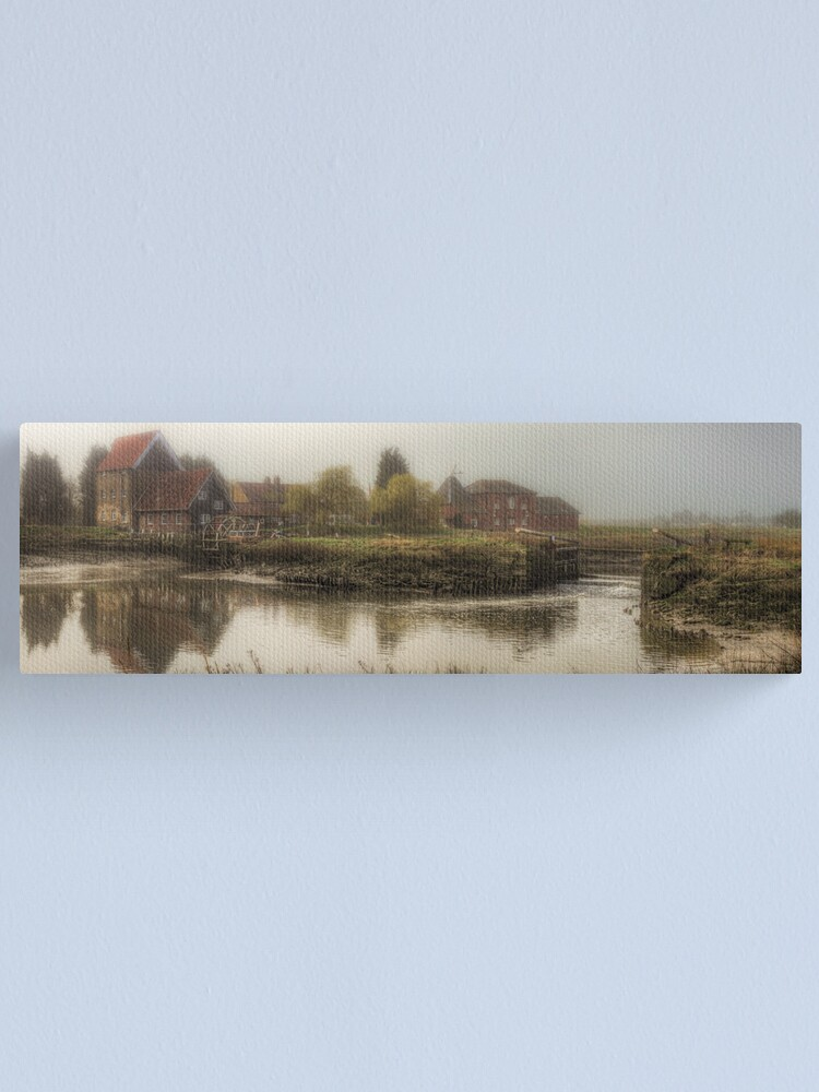 Alternate view of Tidal Watermill Canvas Print