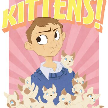 John Watson - Kittens by jeweldesigns