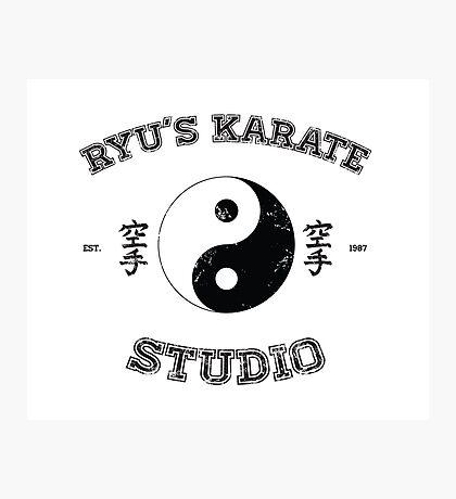 Ryu's Karate Studio Photographic Print