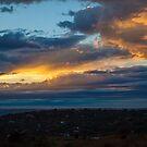 Heavenly rays by Rudi Venter