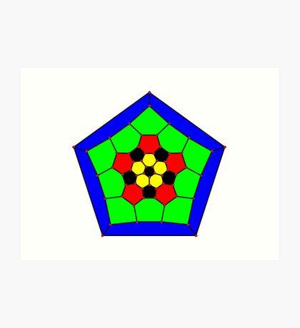 "GraphData[""TruncatedIcosahedralGraph""].  Art Print"