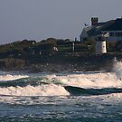 House with Lighthouse by Mannabelles
