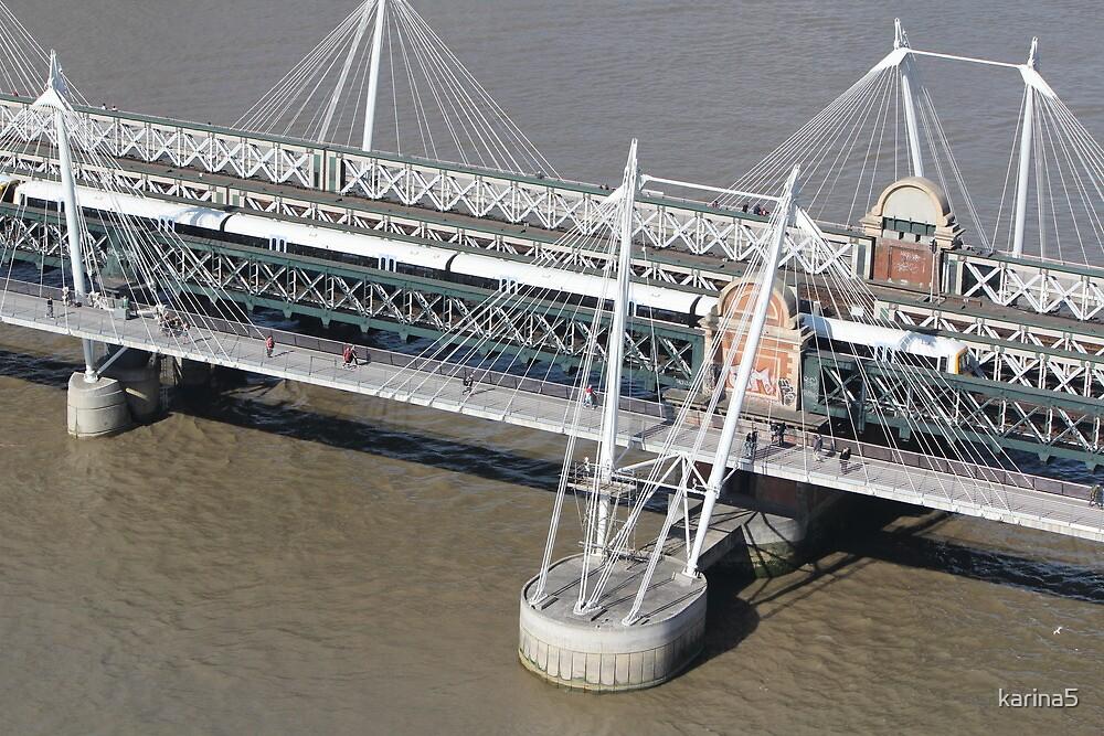 Golden Jubilee Bridge by karina5