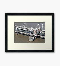 Golden Jubilee Bridge Framed Print
