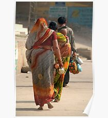 Walking Along the Ghats Poster