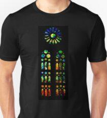 Stained Glass Windows - Sagrada Familia, Barcelona, Spain Slim Fit T-Shirt