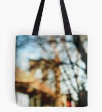 painted bridge Tote Bag