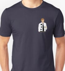 Three Hole Punch Version of Jim Slim Fit T-Shirt