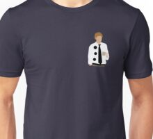 Three Hole Punch Version of Jim Unisex T-Shirt