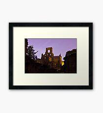 Kirkstall Abbey Cistercian monastery Leeds West Yorkshire Framed Print