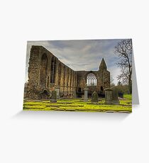 Abbey Refectory Greeting Card
